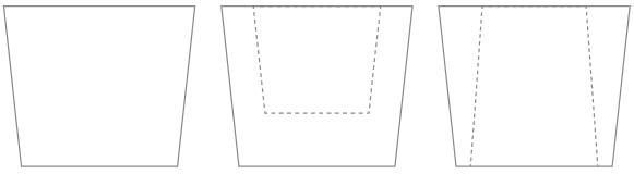 ピストンリーヴ形状例
